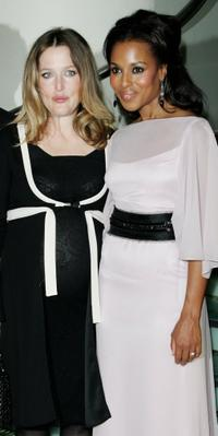 Gillian Anderson and Kerry Washington at the UK premiere of