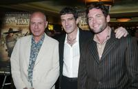 Alan Arkin, Antonio Banderas and Eion Bailey at the premiere of