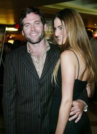 Eion Bailey and Rona Shiman at the premiere of