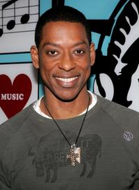 Orlando Jones at the backstage after appearing on MTV's Total Request Live.