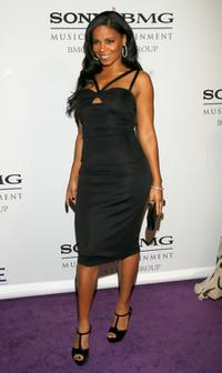 Sanaa Lathan at the Legendary Clive Davis Pre-Grammy Party.