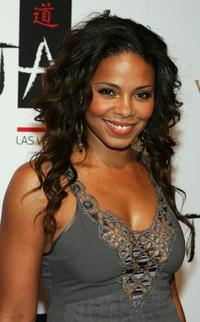 Sanaa Lathan at the during the club's one-year anniversary party.