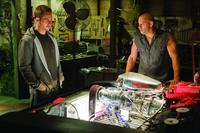 Paul Walker as agent Brian O'Conner and Vin Diesel as fugitive ex-con Dom Toretto in