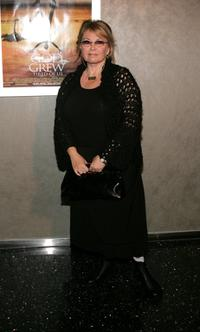 Roseanne arrives at the premiere of