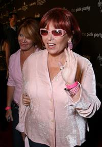 Rosanne Barr arrives at The Pink Party to benefit Cedars-Sinai Women's Cancer Research Institute.