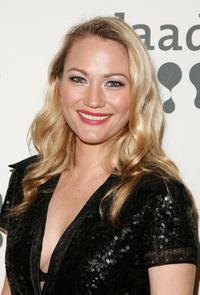 Sarah Wynter at the 18th annual GLAAD Media Awards.