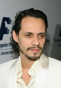 Marc Anthony at he Friends of The LA Free Clinic annual dinner gala.