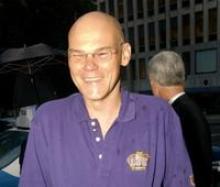 James Carville at the HBO K Street party.