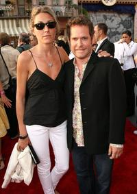 Dixie Chassay and Tom Hollander at the world premiere of