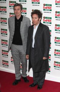 Peter Capaldi and Tom Hollander at the Jameson Empire Awards 2009.