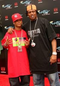 Romeo and father Master P at the 2006 BET Awards.