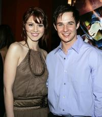 Mary Elizabeth Winstead and Ryan Merriman at the premiere of