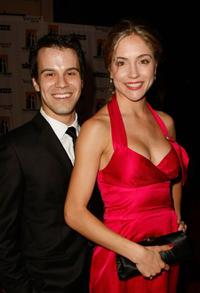 Michael Shulman and Brooke Nevin at the Hollywood Film Festival's Gala Ceremony.