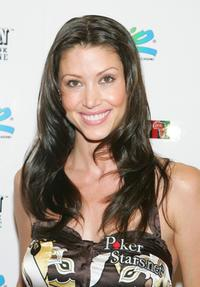 Shannon Elizabeth at the Ante Up for Africa celebrity poker tournament during the World Series of Poker.