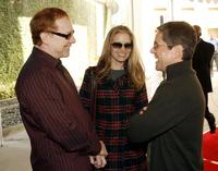 Bridget Fonda and her husband Danny Elfman, Brad Grey at the Los Angeles premiere of