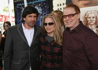 Bridget Fonda and her husband Danny Elfman, Gary Winick at the Los Angeles premiere of