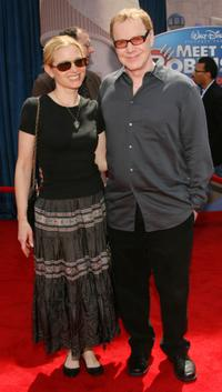 Bridget Fonda and Danny Elfman at the Hollywood premiere of