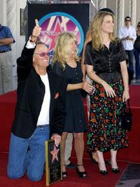 Bridget Fonda and her father Peter and mother Becky Fonda at the ceremony honoring him with a star on the Hollywood Walk of Fame.