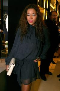 Golden Brooks at the CHANEL and P.S. ARTS Party.