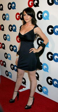 Lindsay Lohan at the GQ 2005 Men Of The Year Celebration.