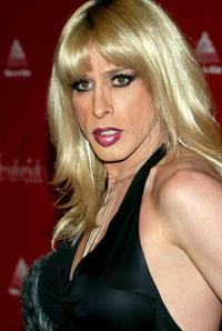 Alexis Arquette at the Frederick's of Hollywood Fall 2003 fashion show and auction.