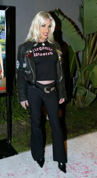 Alexis Arquette at the premiere party for