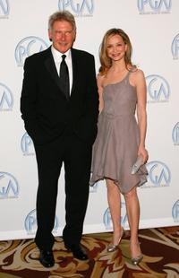 Harrison Ford and Calista Flockhart at 18th Annual Producer Guild Awards.