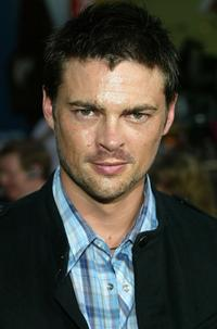 Karl Urban at the world premiere of