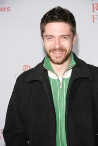 Topher Grace at the 8th Annual Revlon Run/Walk for Women.