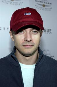 Topher Grace at the premiere of