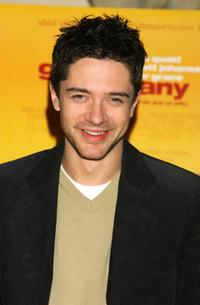 Topher Grace at the photocall for his new film