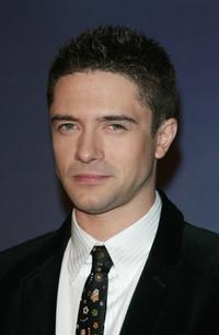 Topher Grace at the Paris film premiere of