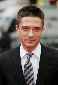 Topher Grace at the UK film premiere of