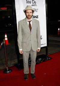 Danny Masterson at the premiere of