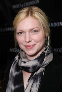 Laura Prepon at the Moet and Chandon suite in honor of the 2008 SAG Awards.