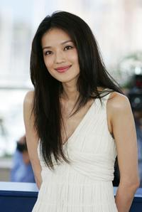 Shu Qi at the Photocall promoting