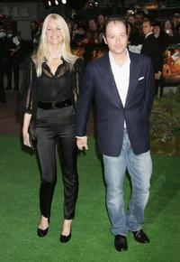 Claudia Schiffer and Matthew Vaughn at the premiere of