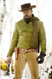 Jamie Foxx as Django in