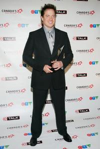 Brendan Fraser at the Canada's Walk Of Fame Gala.