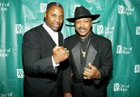 Marvis Frazier and his father Joe Frazier at the Hearts For Hope Gala.