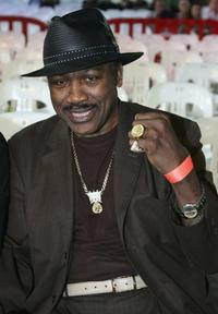 Joe Frazier at the Anthony Mundine vs. Danny Green Super Middleweight fight.