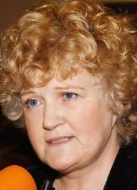 Brenda Fricker at the world premiere of