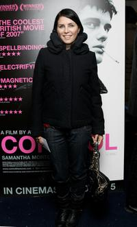 Sadie Frost at the London gala screening of