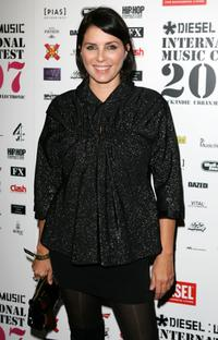 Sadie Frost at the Diesel U-Music Awards.