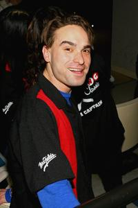 Johnny Galecki at the Second Stage Theatres 19th Annual All-Star Bowling.