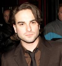 Johnny Galecki at the world premiere of