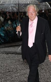 Michael Gambon at the London premiere of