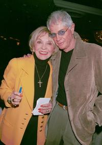 Beverly Garland and Troy Donahue at the Pacific Pioneer Broadcasters Awards Luncheon honoring Garland.