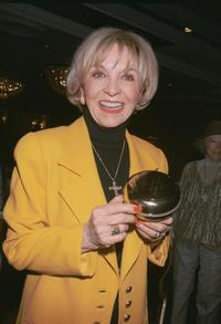 Beverly Garland at the Pacific Pioneer Broadcasters Awards Luncheon honoring Garland.