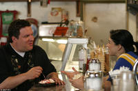 Jeff Garlin and Sarah Silverman in